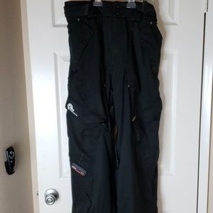 Billabong snowboard ski pants with recco mens L